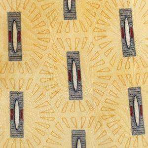 Graham Lockwood Tie Mens Necktie Yellow